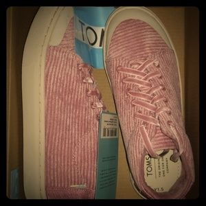 Toms Youth Lenny Mid Corderoy Sneakers NEW
